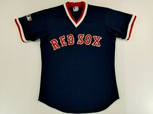 Vintage BOSTON RED SOX BP Majestic Jersey Shirt USA Made M/L