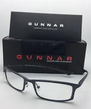 New GUNNAR Computer Glasses PHENOM 55-18 134 Graphite Frame w/Crystalline Lenses