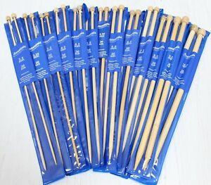 Bamboo Knitting Needles & Knitting Pins Whitecroft Essentials 3mm - 10mm x 30cm
