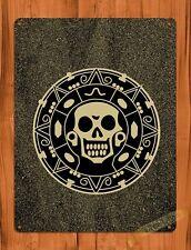 TIN SIGN Disney Pirates Of The Caribbean Aztec Gold Movie Art Poster