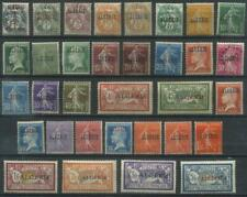 French Colonies, Algeria 19241926 Michel 1-33 MH*