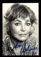 Ingeborg Schöner Rüdel Autogrammkarte Original Signiert # BC 94280