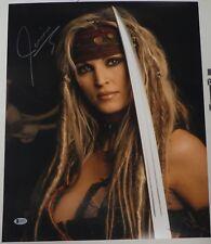 Janine Lindemulder Signed 16x20 Photo BAS COA Pirates XXX Porn Picture Autograph