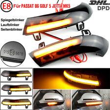 2x Dynamische LED Spiegelblinker Laufblinker Für VW Golf 5 Passat B6 Jetta MK5