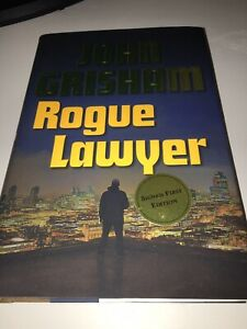 Rogue Lawyer by John Grisham;Signed First Edition, New, Hardcover, 2015