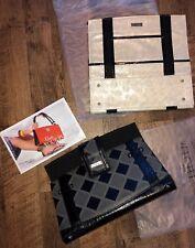 Miche Classic Shell Charlotte Magnetic Handbag Purse cover Gray/Black AUDI NEW