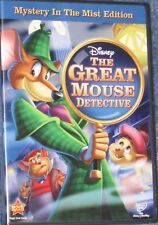 NEW DVD Disney The Great Mouse Detective Mystery in the Mist Edition