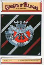 WW2 - Greasts & Badges of the Armed Forces -The Duke of Conwall's Light Infantry