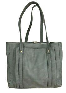Relic Grey Tote Handbag Purse  Double Strap Shoulder Handles