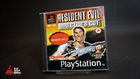 Rare Et de Collection Resident Evil Director's Cut sony 1997 PS1 Livraison
