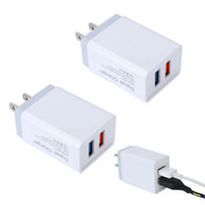 USB Double Wall Fast Charger Adapter 1.5A 2A 5V  For Android / Galaxy / iPhone