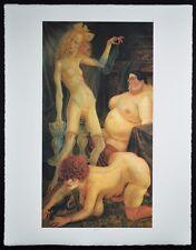 DIX OTTO - GRAFIK - DREI WEIBER (1926)