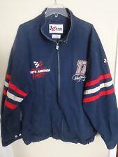 Western Auto Racing Darrell Waltrip # 17 Zip Front Premium Denim Coat Men 2XL