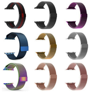 Milanese Stainless Steel Bracelet Band Apple Watch Series 1 2 3 4 38/40/42/44mm