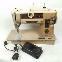 Vintage Singer 401A Slant Heavy-Duty Sewing Machine - Untested / AS-IS