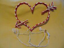 Valentine's Day arrow heart Window Decoration hanging