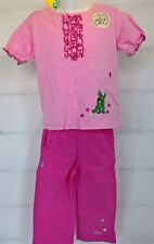 ~ Wiggles - DOROTHY GENUINE PINK TOP & PANTS OUTFIT CLOTHES SET SZ 3 YRS