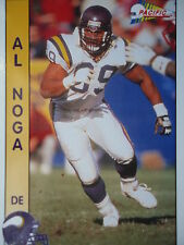 NFL 181 Al Noga DE Defensive End Pacific 1992