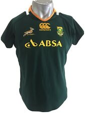 New listing Canterbury South Africa Rugby Jersey Official Licensed Size 18 Ladies