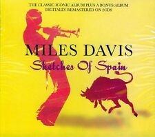 MILES DAVIS - SKETCHES OF SPAIN - 2 ALBUMS ON NEW 2CD