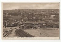 Transvaal A Gold Mine Johannesburg South Africa Vintage Postcard 994b