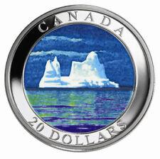 2004 Canada $20 Silver Coin - Icebergs