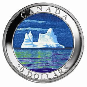 Icebergs - 2004 Canada $20 Fine Silver Coin