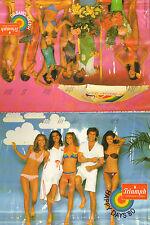 Publicité  Print AD 1980 Lingerie Triumph HAPPY DAYS'80 maillot de bain