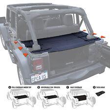 GPCA Cargo Cover PRO for TOP ON/ TOPLESS Jeep Wrangler 4 Door JKU 2007-2018