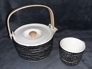 Olva 'Siirtolapuutarha' Marimekko Teapot & Cup