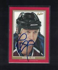 Rob Blake Colorado Avalanche 2004-05 Beehive Signed Hockey Card W/Our COA