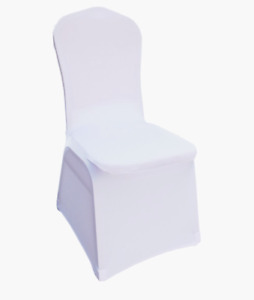 Spandex Chair Covers - Stretch, Slip-on, Removable - Wedding and Party