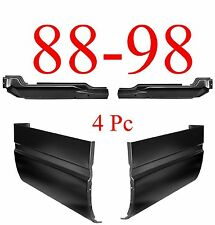 88 98 4Pc Inner & Outer Extended Cab Corner Kit, Chevy GMC Truck, 1.2MM Thick