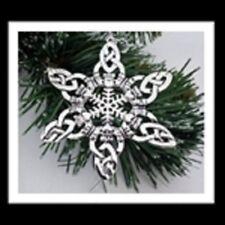 Celtic Claddagh  Snowflake Ornament/Pendant