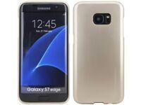 HANDY ZUBEHÖR FÜR Samsung Galaxy S7 EDGE G935F SCHUTZHÜLLE SOFT CASE GUMMI GOLD