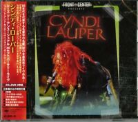 CYNDI LAUPER-FRONT AND CENTER (SHE'S SO UNUSUAL 30TH...-JAPAN CD+DVD I98