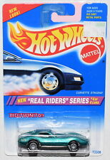 HOT WHEELS 1994 CORVETTE STINGRAY REAL RIDERS SERIES #4/4 W+