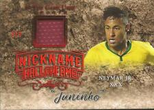 Neymar Leaf In the Game Used Jersey Red 3/3 Brazil Paris Saint-Germain PSG
