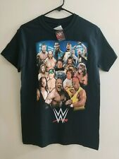 WWE Shirt Official Adult Small Black Shirt - The Rock, Undertaker, Stone Cold
