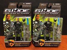 GI Joe Rise Of Cobra Ripcord Lot Of 2 Dela2153