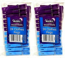 Minky Essentials Clothes Pegs X 2 Packs Of 24