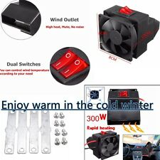 Auto Car Vehicle Adjustable Heater Heating Cooling Fan Defroster Demister Rapid