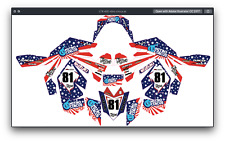 Fits Suzuki LTR 450 ATV stickers decals graphics kit All years decal kit 2