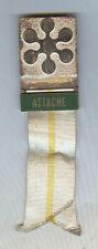 Rare Official Sapporo 1972 Olympic Winter ATTACHE  Badge