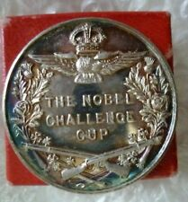 1957 Royal Air Force Shooting Nobel Challenge Cup Winners Coin CPL Blincoe+ Box