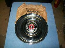"""1956 Chrysler Windsor New Yorker NOS MoPar 15"""" WHEEL COVER #1635362 Hub Cap"""