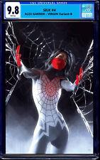 SILK 4 CGC 9.8 ALEX GARNER VIRGIN VARIANT-B 2021 SPIDER-MAN 1000 PRINT RUN RARE!