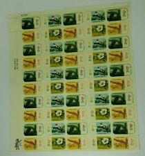 1968 Botanical Congress International 6 cent Stamp Sheet of 50 Mint