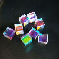 25mm Defective X-Cube Prism Cross Dichroic RGB Combiner Splitter Prism 4 PCS