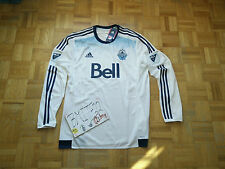 NWT Vancouver Whitecaps Adidas MLS Adizero Long Sleeves Soccer Men Jersey M
